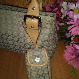 Nine West handbags w/matching cell phone case